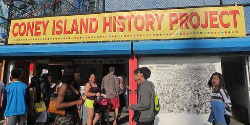 Coney Island History Project Walking Tour - December 7, 2019 - March 1, 2020