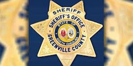 Greenville County Sheriff's Debate tickets