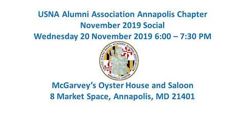 USNA Alumni Assoication Annapolis Chapter November Social tickets