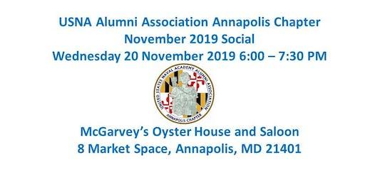 USNA Alumni Assoication Annapolis Chapter November Social