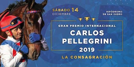 """Gran Premio Carlos Pellegrini """"La consagración"""" entradas"""