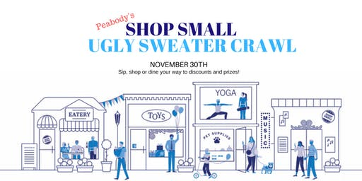Shop Small Ugly Sweater Crawl