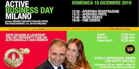 Active Business Day Milano - 15 Dicembre 2019 biglietti
