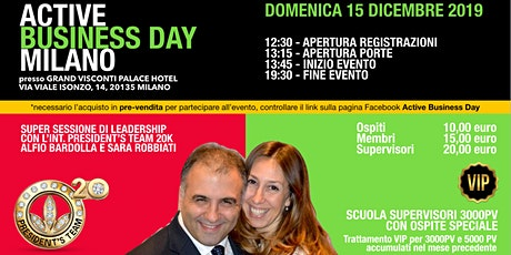 Active Business Day Milano - 15 Dicembre 2019 tickets