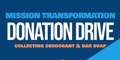 Mission Transformation Donation Drive