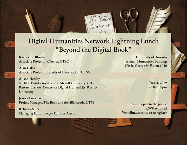Lightning Lunch: Beyond the Digital Book image