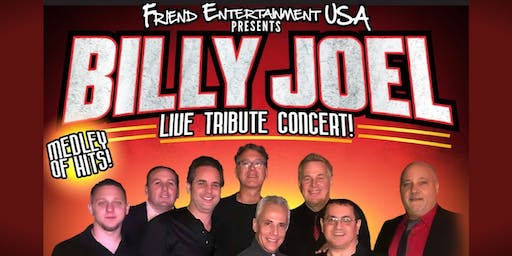 Billy Joel Live Tribute Concert: Starring Cold Spring Harbor Band
