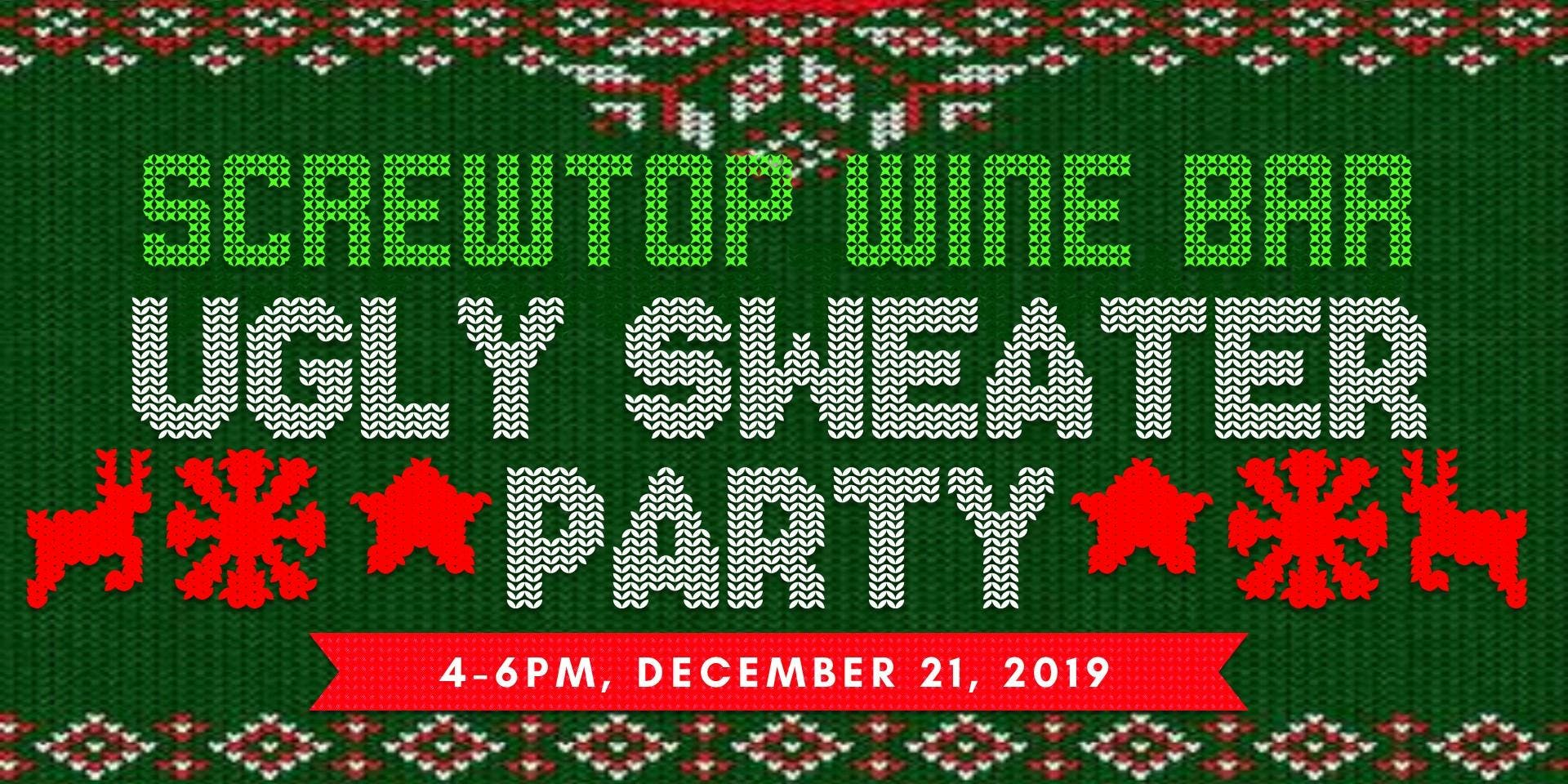Ugly Sweater Holiday Wine Party