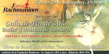 Festival Rachmaninov: Gala de Ballet de Fin de Año entradas