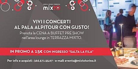 Apericena in Terrazza Pala Alpitour prima del concerto di RENATO ZERO biglietti