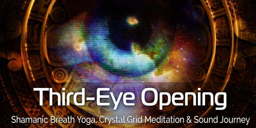 Shamanic Breath Yoga: Third-Eye Opening with Crystal Grid