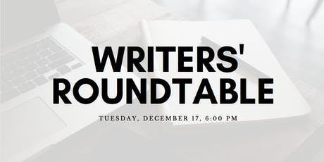 Writers' Roundtable: Everyday Challenges, Goals, and Routines tickets
