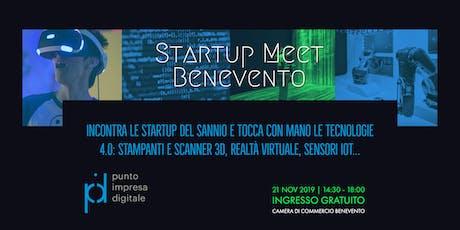 Startup Meet Benevento biglietti