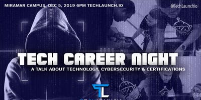 Tech Career Night: Network & Certifications. TechLaunch, a CompTIA Parner.