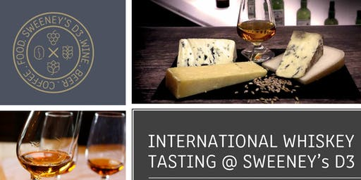 Around the World in Five Whiskeys @ Sweeney's D3