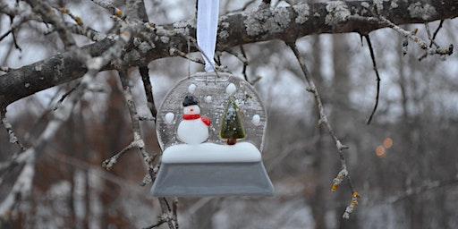 Glass Snow Globe Ornament Class