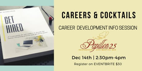 Careers & Cockails: Career Development Info Session tickets