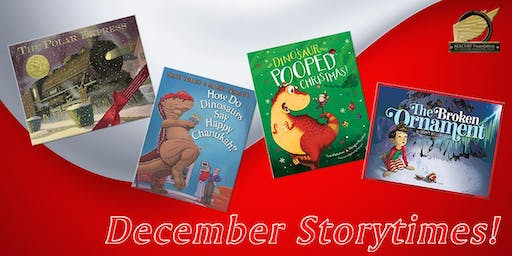 Story Time: The DInosaur that Pooped Christmas