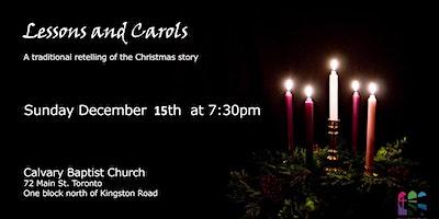 2019 Christmas –  Candle Light Carols and Readings