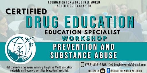 Certified Drug Education Specialist Workshop