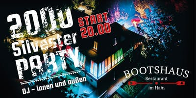 2000er Sylvesterparty im Bootshaus