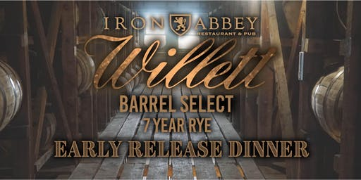 Willett Rye Release Dinner