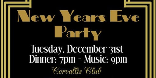 New Year's Party: Roaring 20s