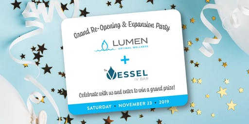 Grand Re-Opening & Expansion Party!