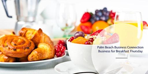 Business for Breakfast Thursday