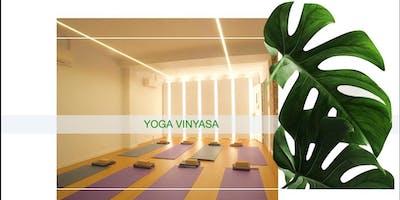 Vinyasa Yoga à 10€ chez Sayya