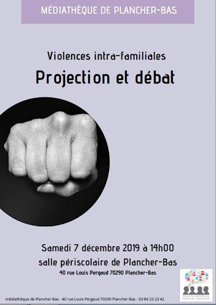 Image pour Violences familiales 2 - Projection-débat