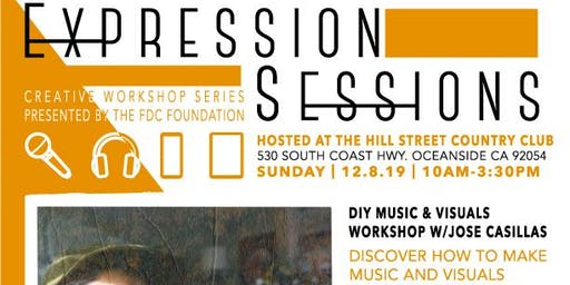 The FDC Foundation Presents: Expression Sessions with Jose Casillas