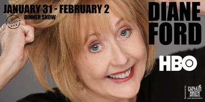 Comedian Diane Ford Dinner show live in Naples, Florida