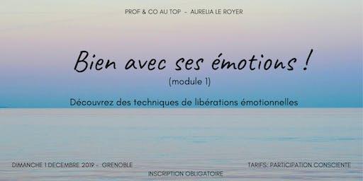 """Atelier """"Bien avec ses émotions"""""""