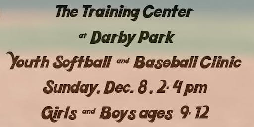 The Training Center at Darby Park Softball & Baseball Clinic