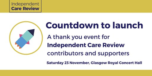 Countdown to launch with the Care Review
