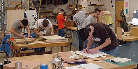 Beginner's Woodworking for High Schoolers (4-week program) tickets