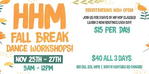 HHM Fall Break Workshops