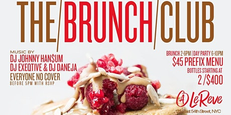 The Brunch Club, 2hr Bottomless Brunch + Day Party, Bdays Celebrate Free tickets