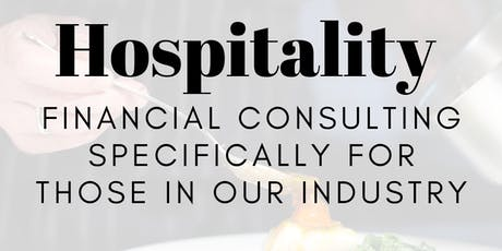 Hospitality Industry Networking/Financial Consulting Breakfast tickets