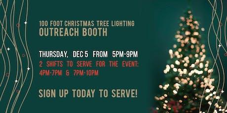 Tree Lighting Booth tickets