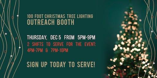 Tree Lighting Booth