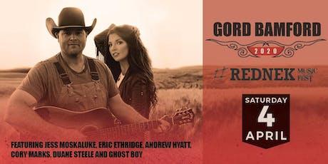 Gord Bamford Rednek Music Fest tickets