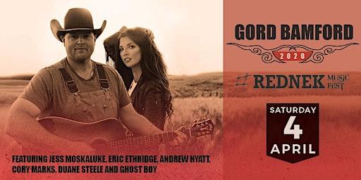 Gord Bamford Rednek Music Fest