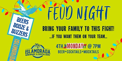Feud Night at Islamorada Brewery & Distillery