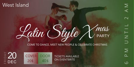 Latin Style Christmas Party tickets