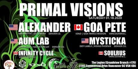 Primal Visions tickets
