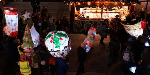 Lantern Parade from Cathedral Square to The Hive