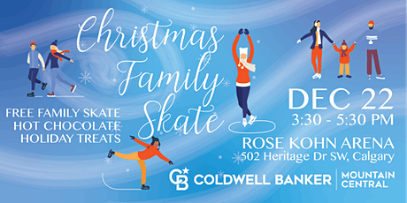 Christmas Family Skate hosted by Rob Vanovermeire tickets