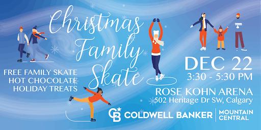 Christmas Family Skate hosted by Rob Vanovermeire